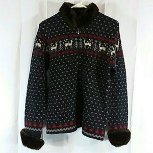 Vintage Ralph Lauren wool sweater, L
